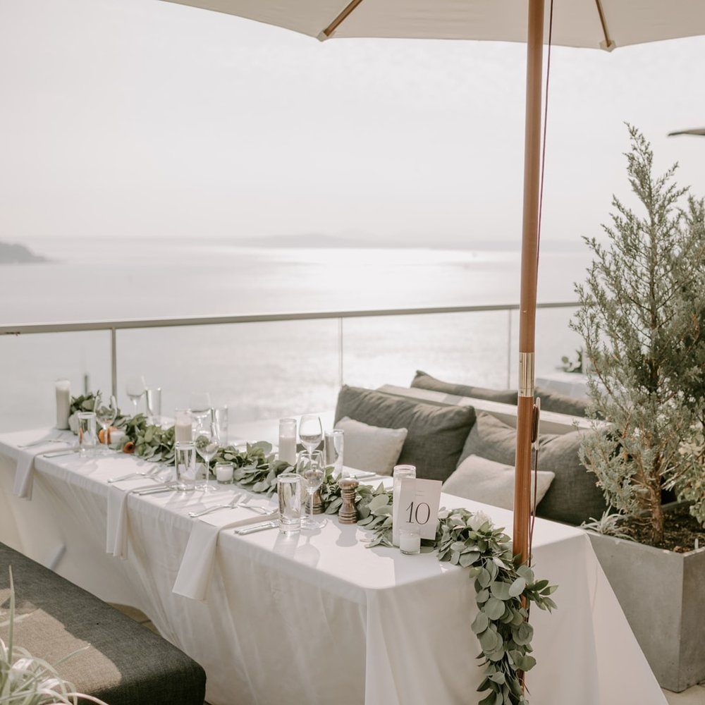 A Rooftop Celebration in the Seattle Skyline -
