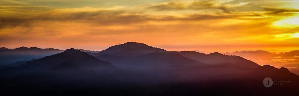 Sunrise over Flores