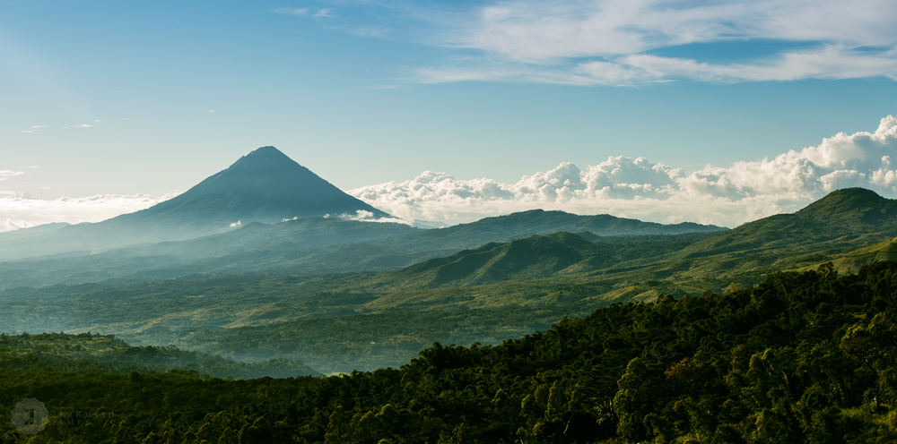 The hills of Flores, Indonesia