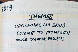 My themes for 2019