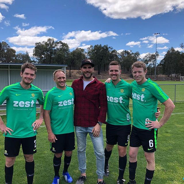 Good luck to the @pararoos as they embark on a journey to Iran for the Asia-Oceania Tournament! I love these guys ....such inspiring and kick arse humans! #goroos! #raidernick💚 👊👊⚽️💚💛