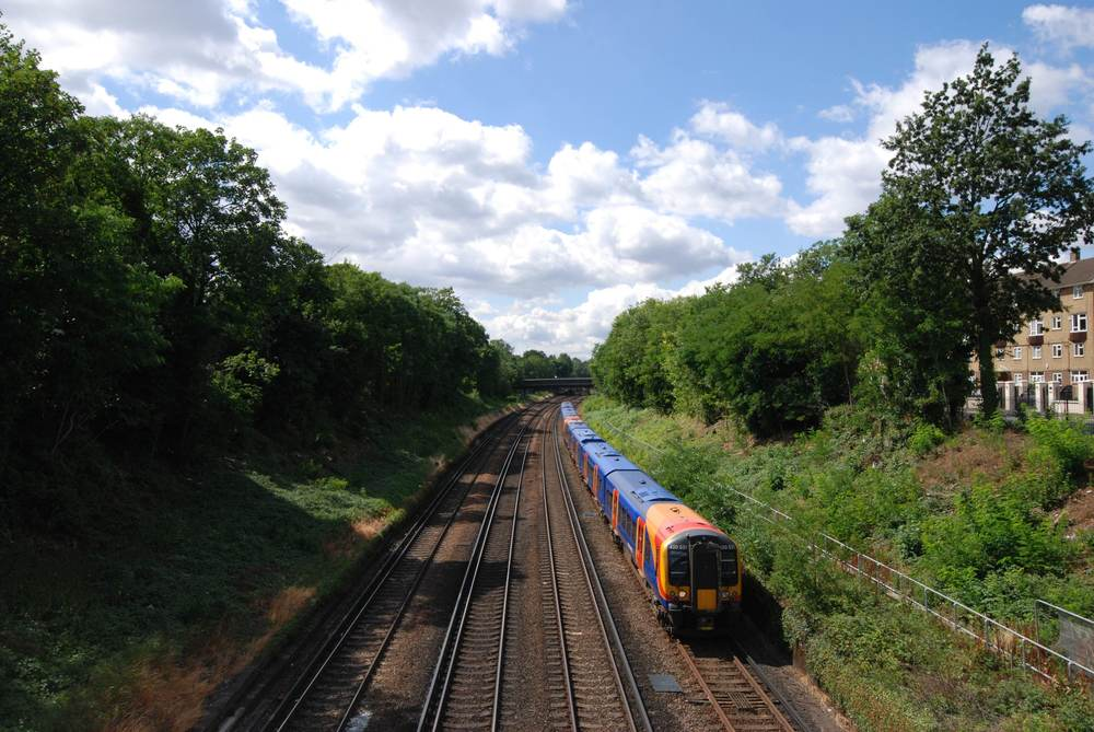 An existing stretch of South London railway