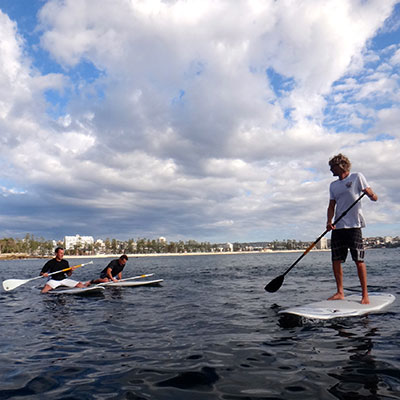Private lessons, corporate groups and board hire. Experience the thrill of walking on water  whilst taking in Sydney's stunning landscape and sea life. Stand-Up Paddle Boarding runs from Shelly Beach in Manly. Click here to read more...