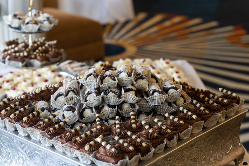 Photo credit: Ideal Impressions Photography //   Wedding Planning: Graceful Events    // Desserts: Bittner's Bakery