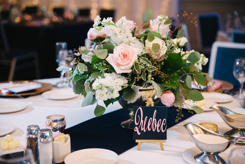 """Unique Table Names... - Instead of using table numbers, they did table names of the Pilot's Alphabet. For example: table 1 was """"Alpha"""", table 2 was """"Bravo"""", table 3 was """"Charlie"""", you get the rest..."""
