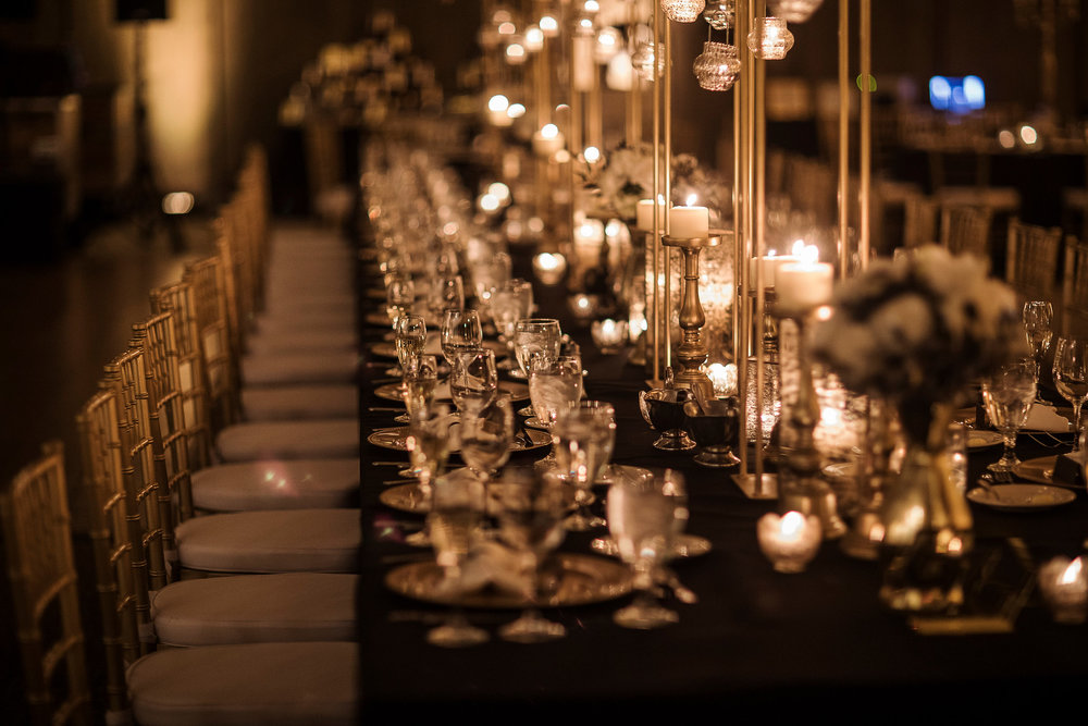 A Romantic Head Table