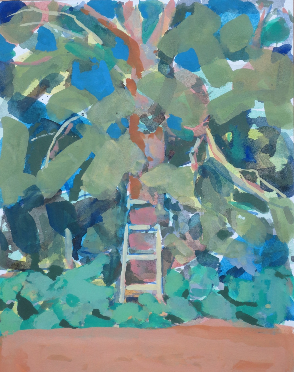 Ladder in Tree, 2015