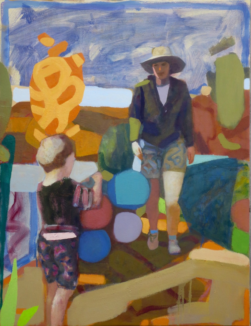 Boy with Balloons, 2015