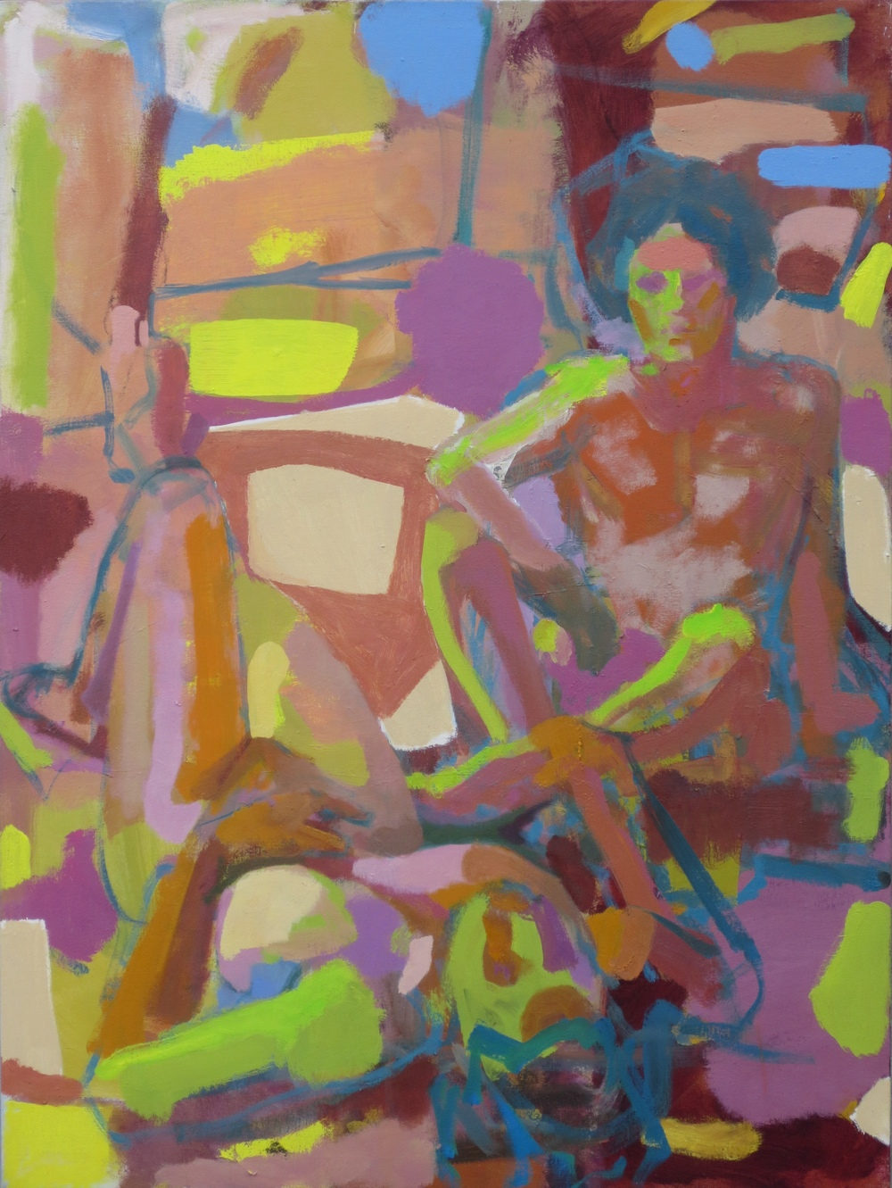Figures in Landscape, 2015