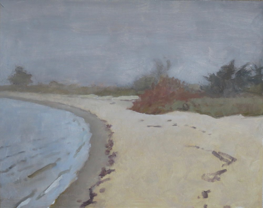 Beach with Fog, 2016
