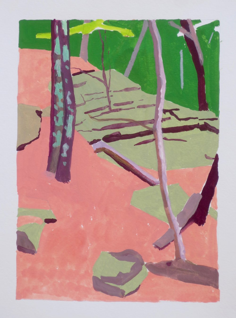 Trees on Guardian, 2016