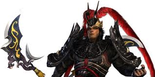 Chinese general Lu Bu. I have no reason to doubt that this is what he looked like.
