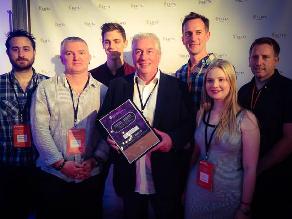 The team behind NEILSON 360 VR PROJECT with there Technical Achievement Commendation