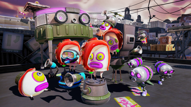 These fellas here are from a rival gang. They've been almost completely driven out by the Inklings. Most of 'em were too afraid to talk wi' me.