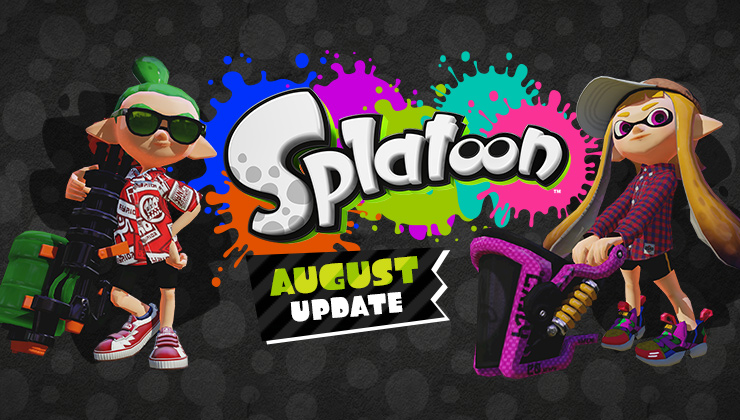 Splatoon now lets friends play together! It lets them tag eachother in and team up, like your WWE TAG TEAM CHAMPIONS the NEEEEEW DAY!
