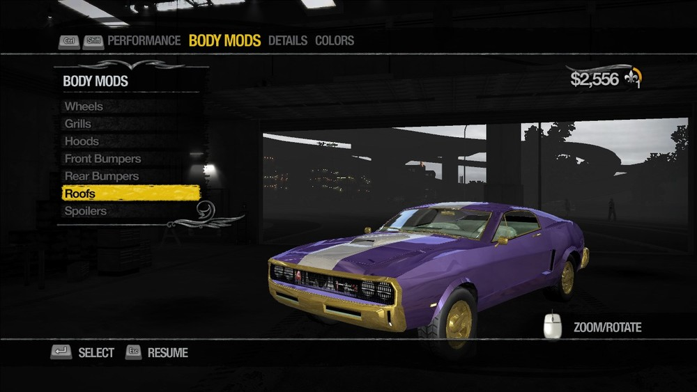 Purple was considered a girl colour before Saints Row.