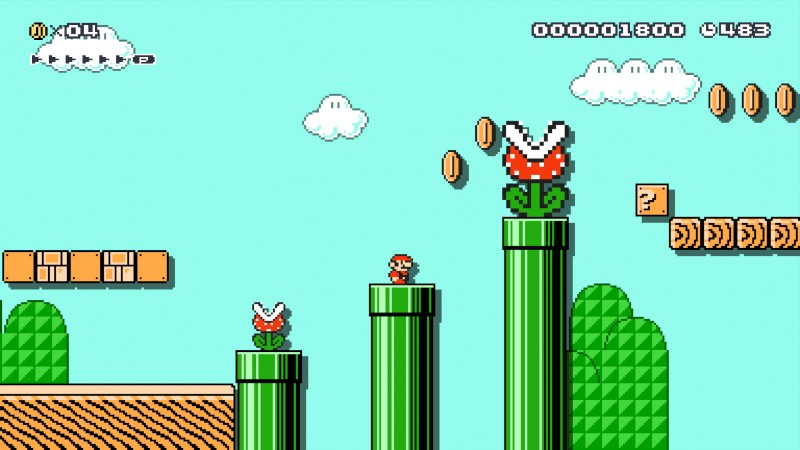 See that giant Piranha Plant? That's your girlfriend, that is.