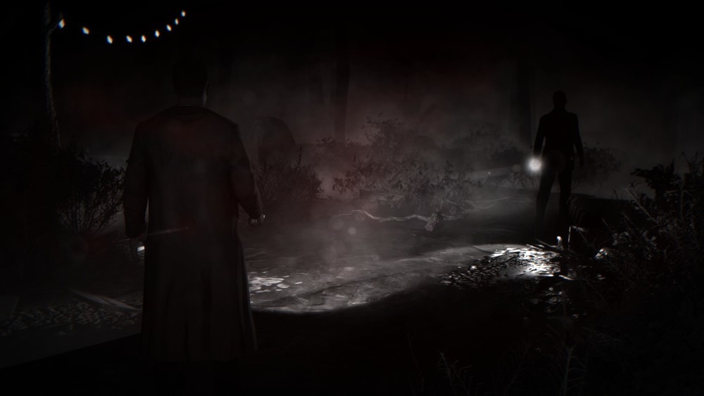 It looks too dark in screenshot form, but during gameplay this nighttime scene builds tension well without being impossible making it impossible to see.