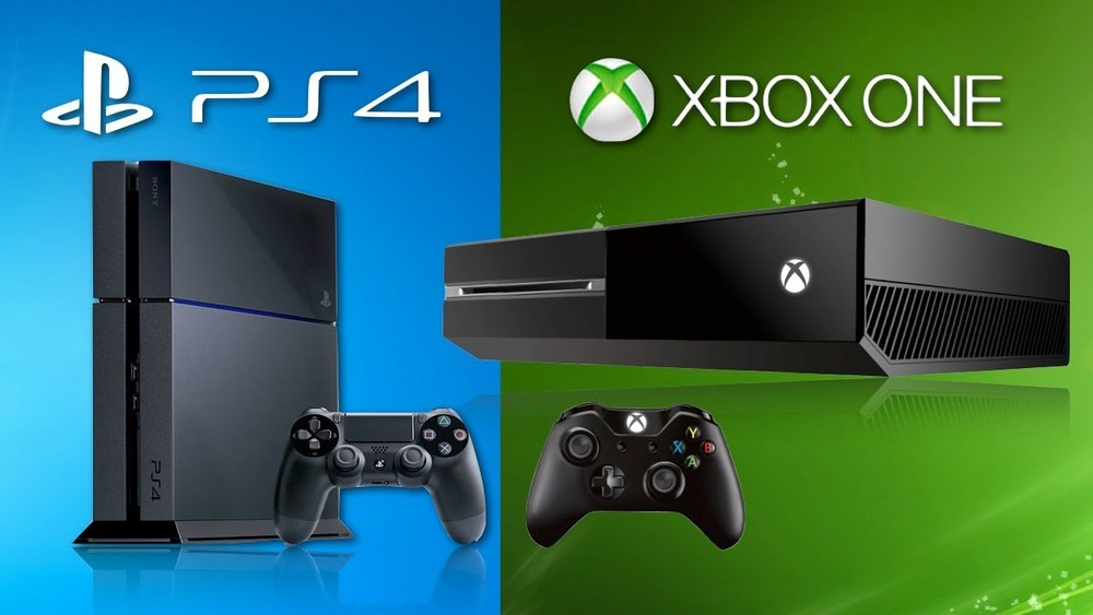 Here comes the consoles in black