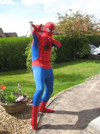Yes, this is me dressed as Spider-Man. Yes, I've worn it more than once. No, I've not worn it during sex. Yes, I have tried.