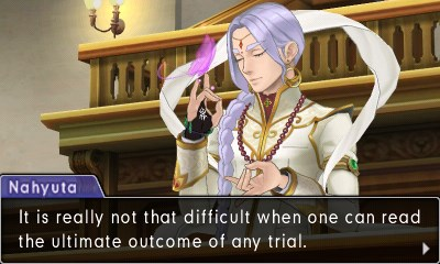 As long-term fans of the series will know, butterflies in the courtroom are not a good sign.