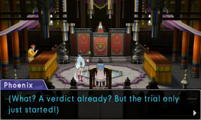 It's not a trial, Phoenix, it's a review. For God's sake pay attention.