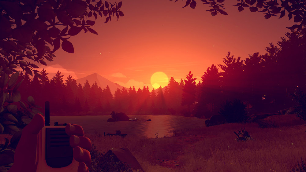 One of the main take-aways from Firewatch: it's a very orange game.