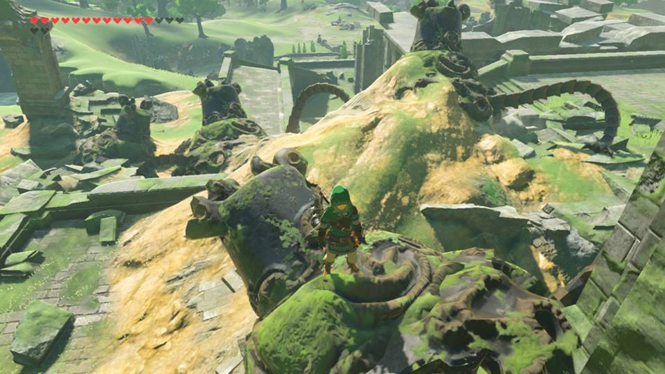 Like much of the architecture in Breath of the Wild, the Guardians are inspired by Jomon period Japan.
