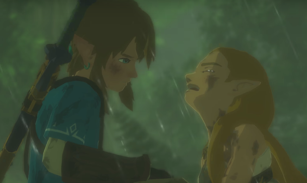 Why was Zelda crying in that trailer?  You won't find out unless you put the effort in, Slacky McSlackpants.