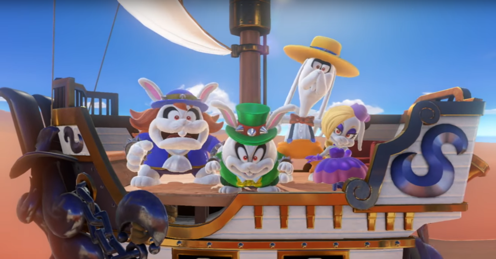 Mario + Rabbids Kingdom Battle airship DLC confirmed.