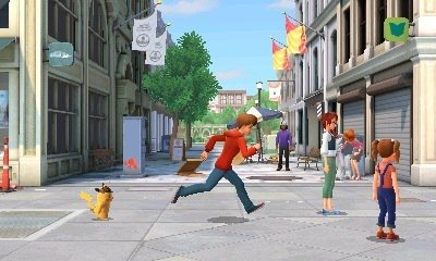 The player character, Tim Goodman, possesses the power to levitate and control the size of his own shadow.