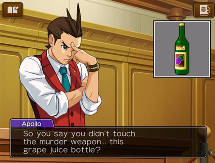 """Grape juice"" indeed. Slightly more believable than calling an Onigiri a hamburger, I suppose."