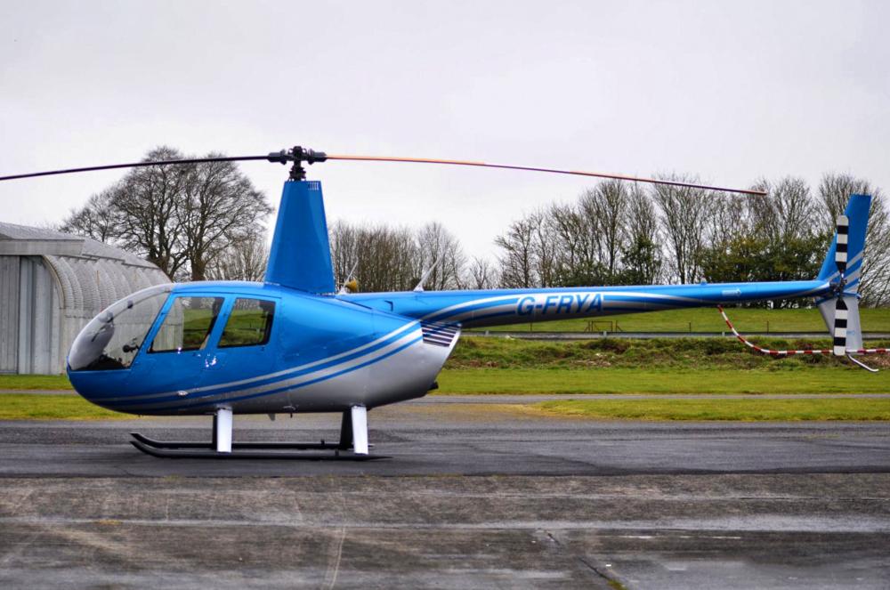 G-FRYA: Robinson R44 Raven II