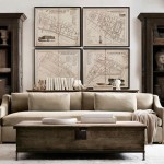 Restoration Hardware – These rooms look are calm and serene.