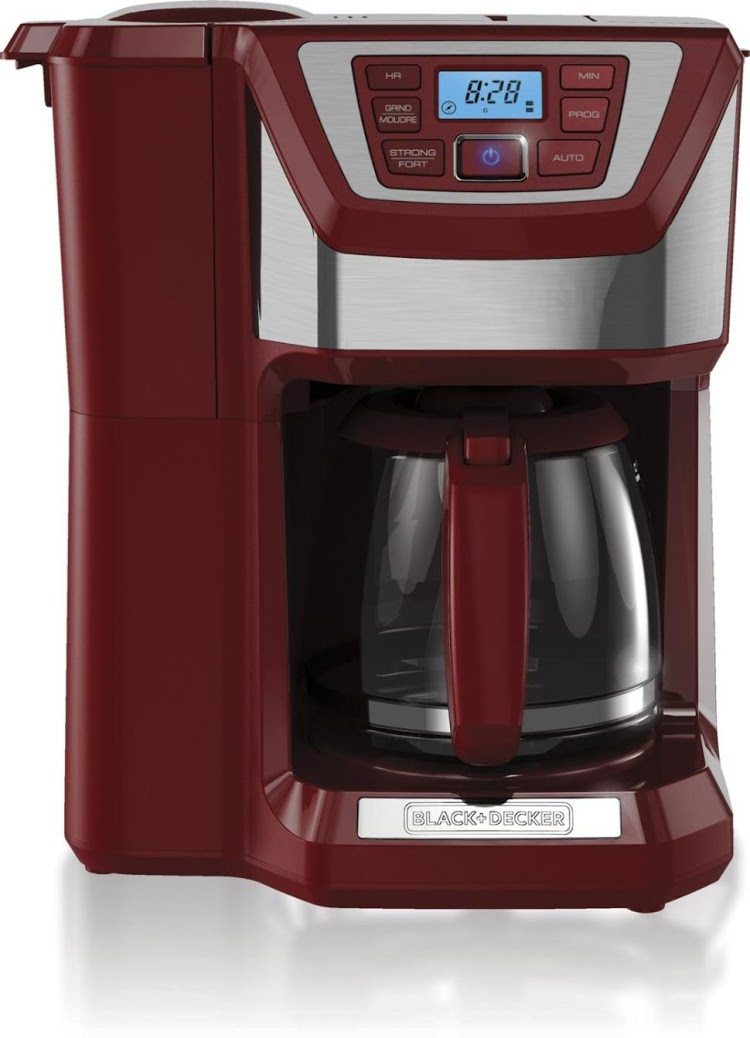 Black and Decker coffee maker in Marsala