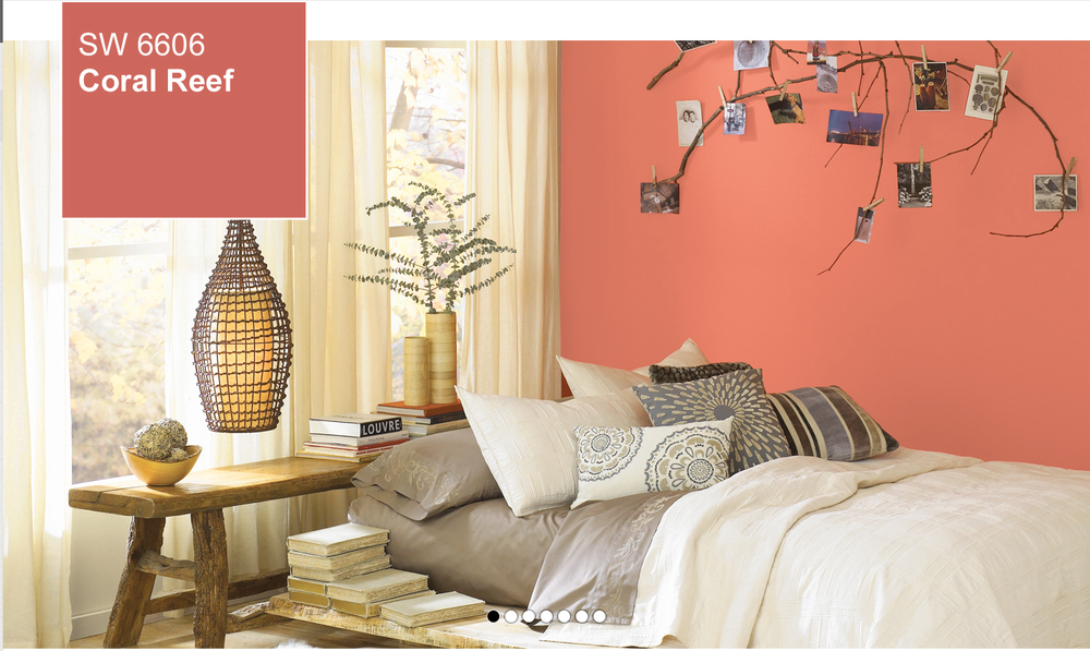 Sherwin-Williams website – Coral Reef room