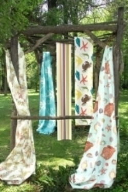 These are a selection of outdoor fabrics from Calico Corners.