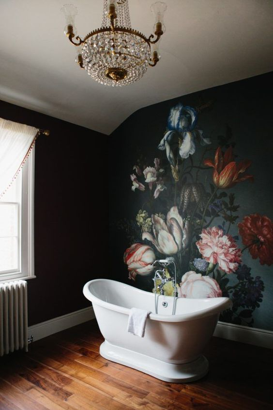 Dark and Moody Floral - Shelterness bathroom.jpg