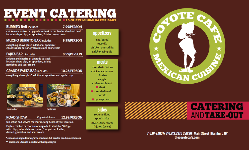 Coyote Cafe Take Out