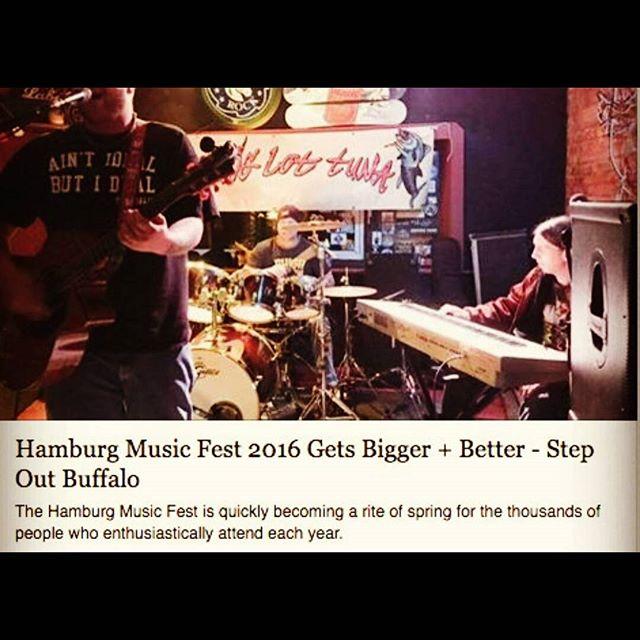 Happy Music Fest Saturday!  http://stepoutbuffalo.com/hamburg-music-fest-2016/