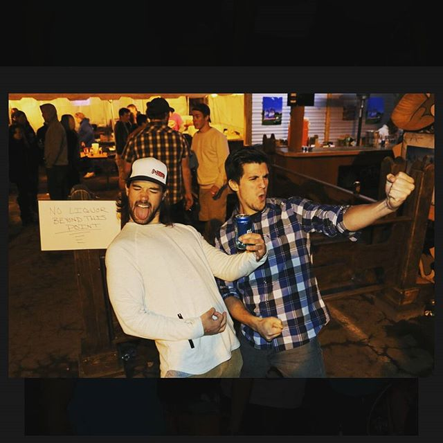 Two dudes living the dream!  2016 Hamburg Music Fest  www.thecoyotecafe.com/coyote-social