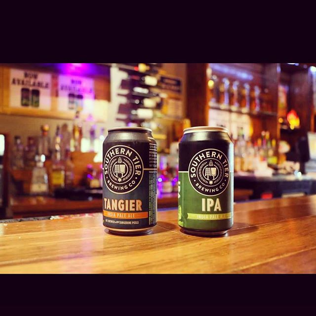 We have 2 new IPAs behind the bar #southerntier #ipa #beer #brew #happyhour #burgerfest