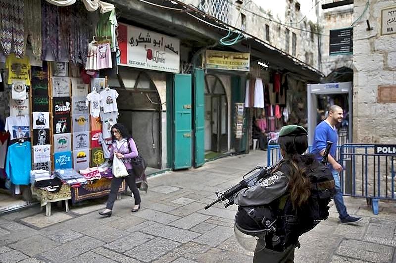 Abu Shukri's restaurant in Jerusalem