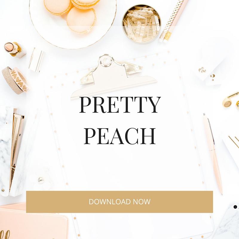 pretty peach