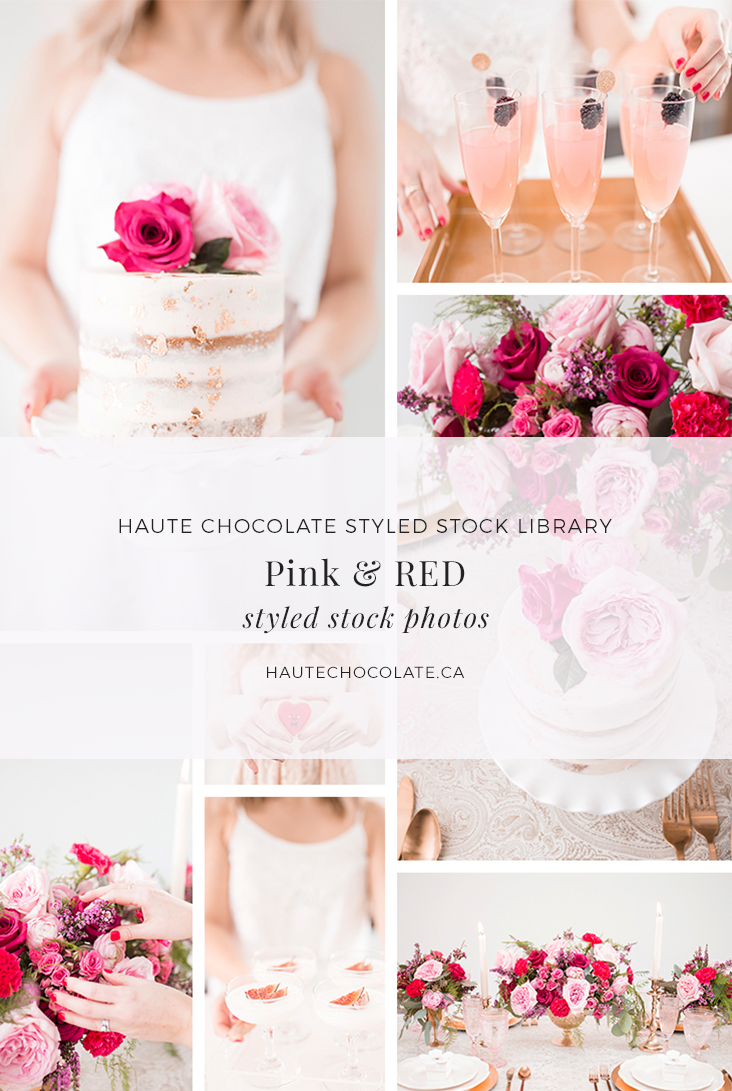 These Valentines Day inspired styled stock photos work for any time of the year! The stylish and sophisticated images are perfect for wedding and event planners looking to create a more cohesive and polished website and social media presence. They're also great for product creators who are looking for stylish product mockups for invitations, cards, mugs and prints and bloggers, graphic designers, and web designers who want to build beautiful websites and create stunning visuals. Exclusively from Haute Stock.