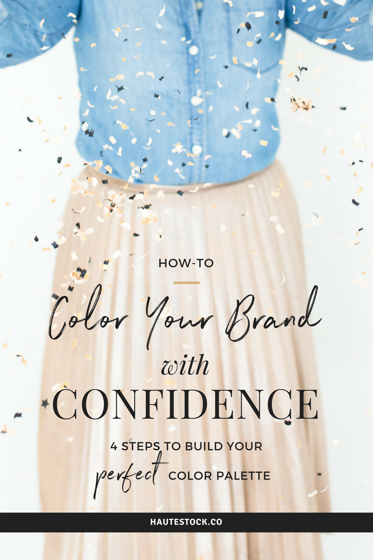 Learn how to master one of the trickier aspects of being a business owner - Brand Colors! Click here to see How-to Color Your Brand with Confidence - 4 Steps to Build Your Perfect Color Palette!
