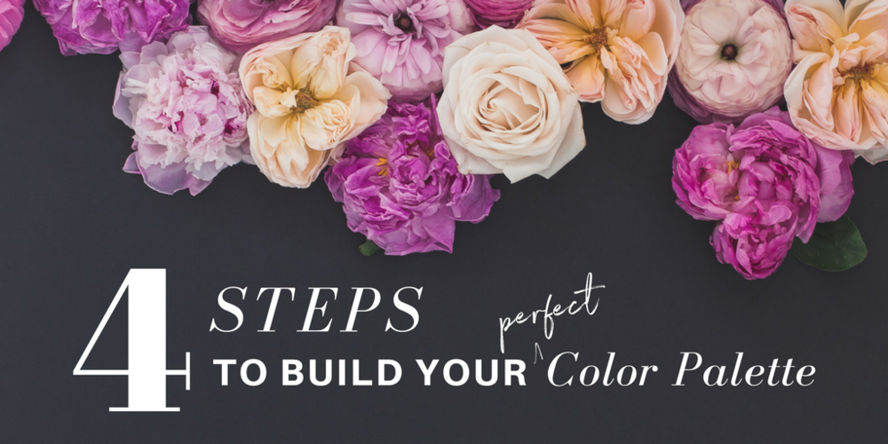 4 Steps to building your percect color palette with Haute Stock!