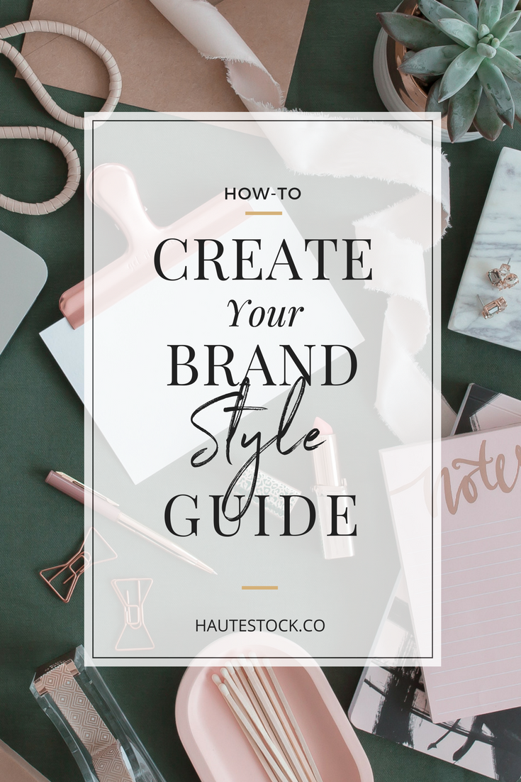 The step-by-step breakdown of how-to create your brand style guide! Click to read the full article and to get your hands on a easy-to-use blank style guide template!