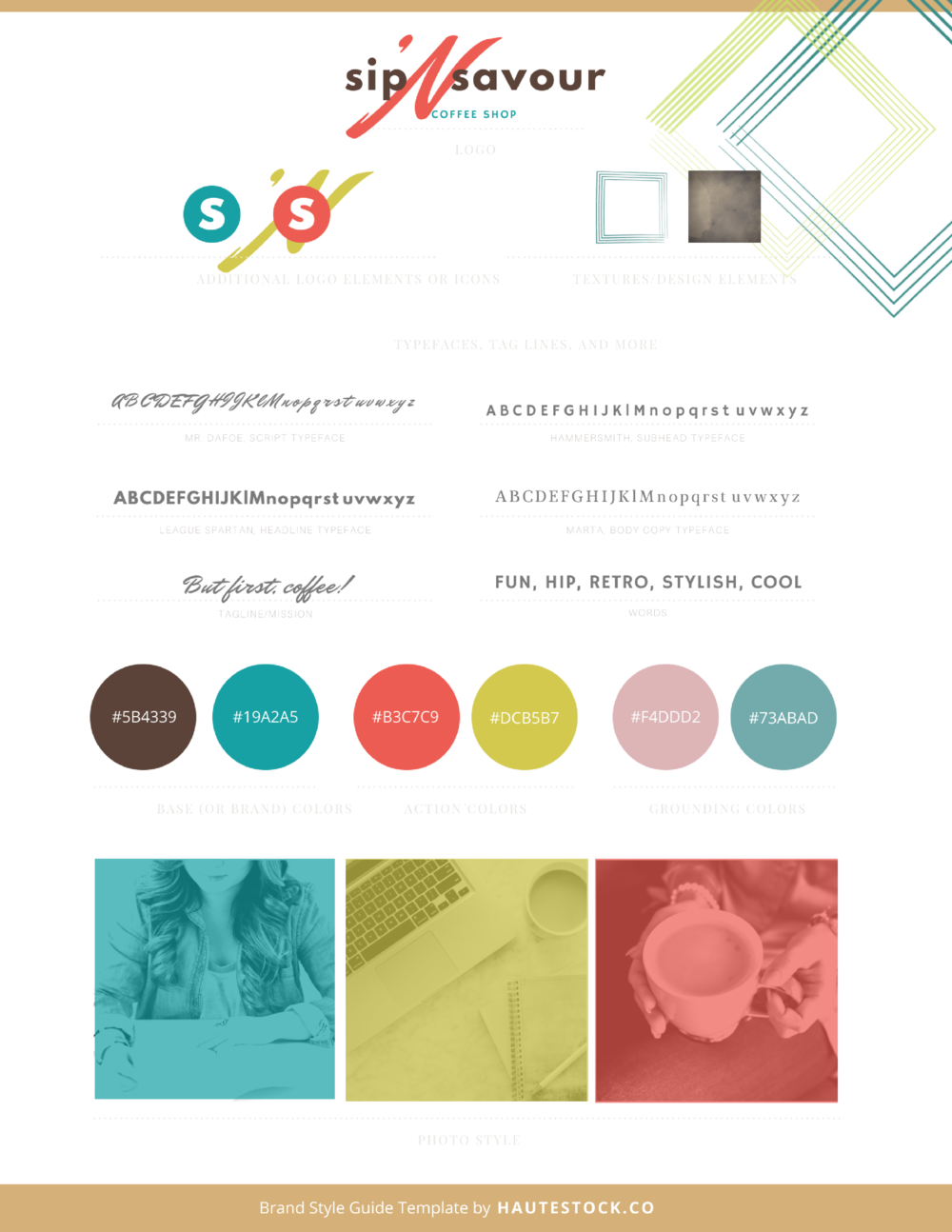 How To Create Your Brand Style Guide Why You Need It And The Must - Brand style guide template