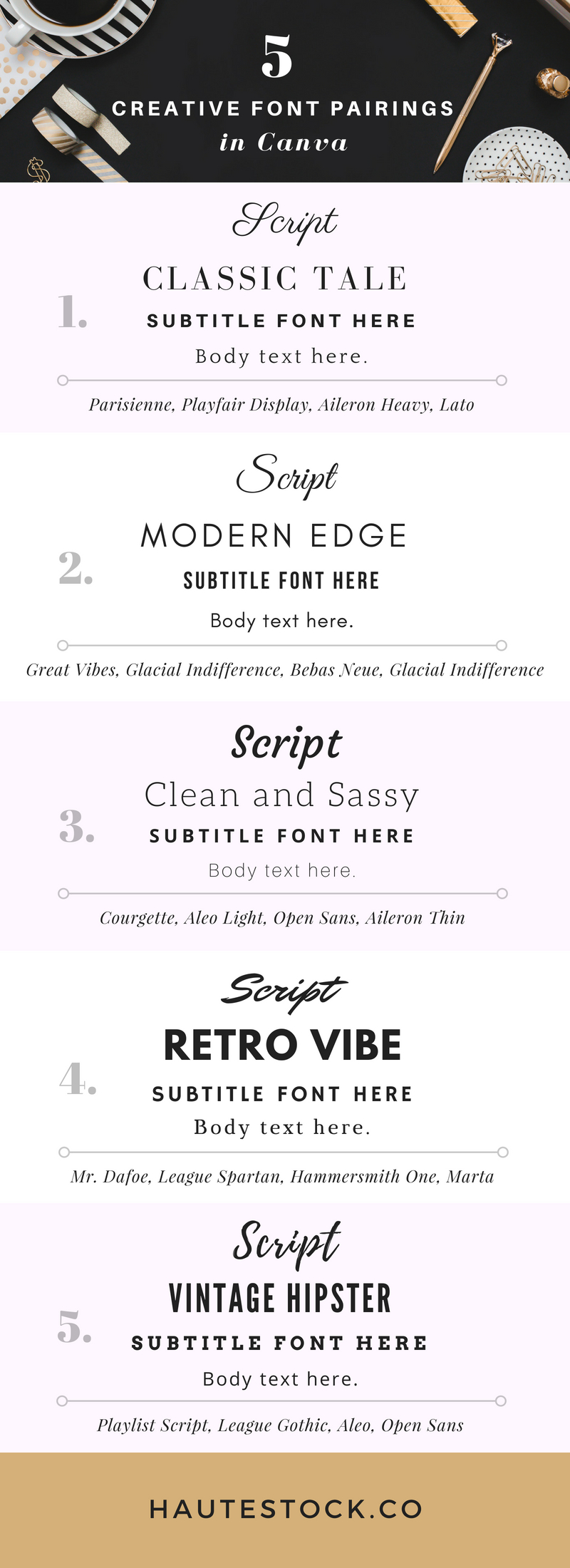 In this blog post and video tutorial you'll learn how to pair fonts and choose the right typeface for your band